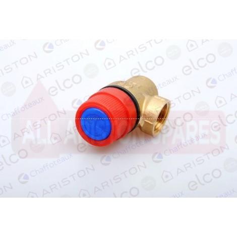 Ariston Safety Valve 6 bar 572447 (Andris Lux 10/15/30 U 2kw & 3kw)