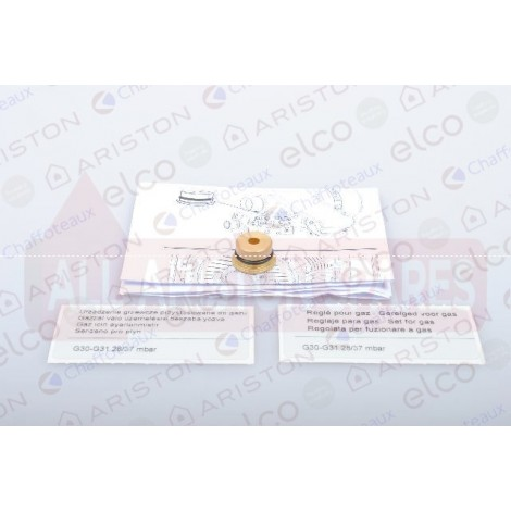 Ariston Burner Jet Full Kit (LPG) 60000753 (E-Combi 30)
