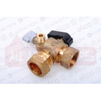 Water Service Flow Valve/Tap 60000887 (E-Combi ONE 24/30 & System)