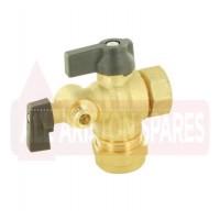 Ariston Water Service Flow Valve/Tap 60000887 (Clas ONE 24/30/38)