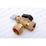 Ariston Water Service Flow Valve/Tap 60000887 (Alteas ONE Net 30/35)