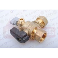 Ariston Cold Water Valve/Tap 60000896 (Clas HE 24/30/38)