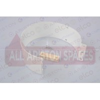Ariston Coaxial Flue Strap D:100 L:44 60000923
