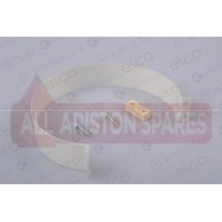 Ariston Coaxial Flue Strap D:100 L:28 60000924