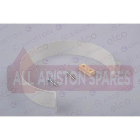 Ariston Coaxial Flue Strap D:100 L:28 60000924