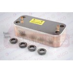 Ariston Secondary Water/Heat Exchanger 60001344 (Clas HE EVO & E-Combi EVO 38)