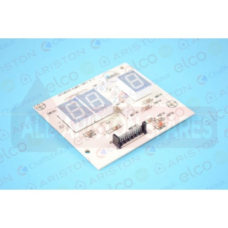 Ariston PCB (CMP3-display) 65100709 (Microgenus II 24,28 & 31)