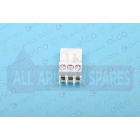 65111934-01 Ariston Connector 3P (Alteas ONE Net 30/35)