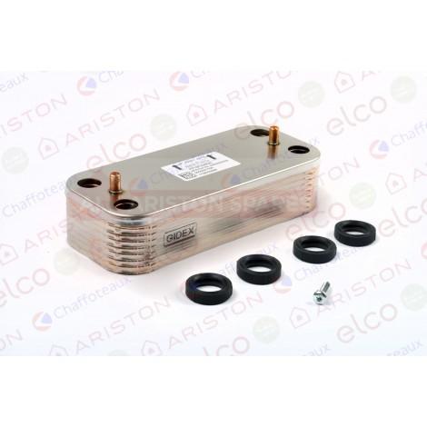 Ariston Secondary Exchanger 65116537 (Alteas ONE Net 30/35)