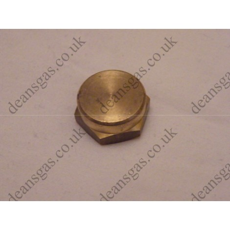 "Ariston Brass cap 1/2"" 570571 (Genus 27 BFFI UK)"