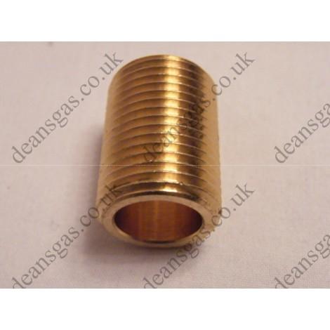 """Ariston Brass nipple 1/2"""" 573531 (DIA 20/24 MFFI)"""