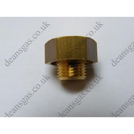 """Ariston Brass plug 1/8"""" 570615 (EuroCombi A23 & A27)"""