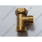 Ariston C.H. Return Brass Connection 572653 (EuroCombi SX20)