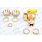 Ariston Gas Service Valve/Tap 60000899 (E-Combi ONE 24/30 & System)