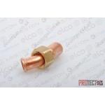 Ariston Pipe (Safety Valve) 65104447 (Cares ONE 24/30 UK Caravan & Leisure Boiler)